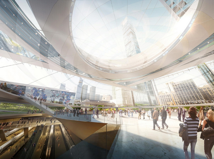 New Penn Station And The Next Madison Square Garden By Som Architects