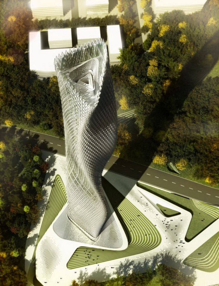 Taiwanese wind tower by decode urbanism office Wind architecture