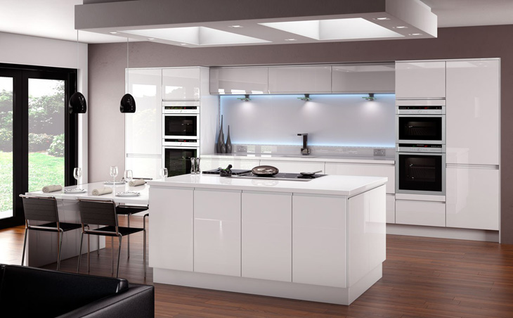 Can 39 t cook won 39 t cook how to make your kitchen the for White gloss tall kitchen units