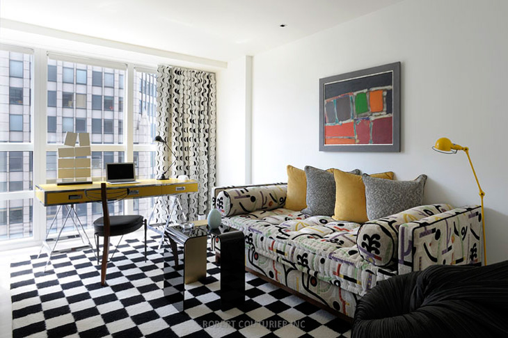 Midtown Apartment In Ny By Robert Couturier