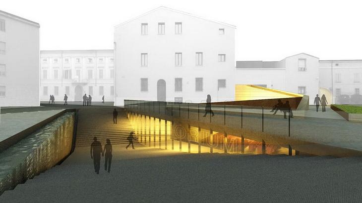Public space renovation in mantova by lucio serpagli for Space architecture