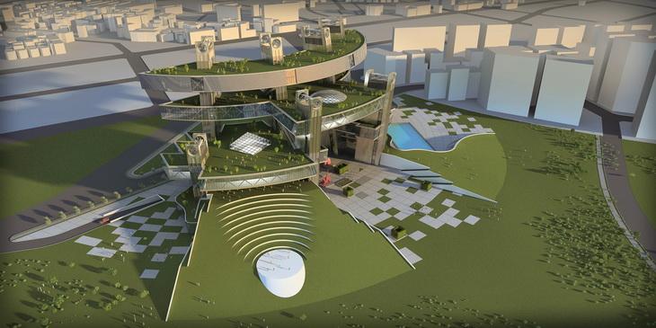 Taichung Center ARCHITECTON