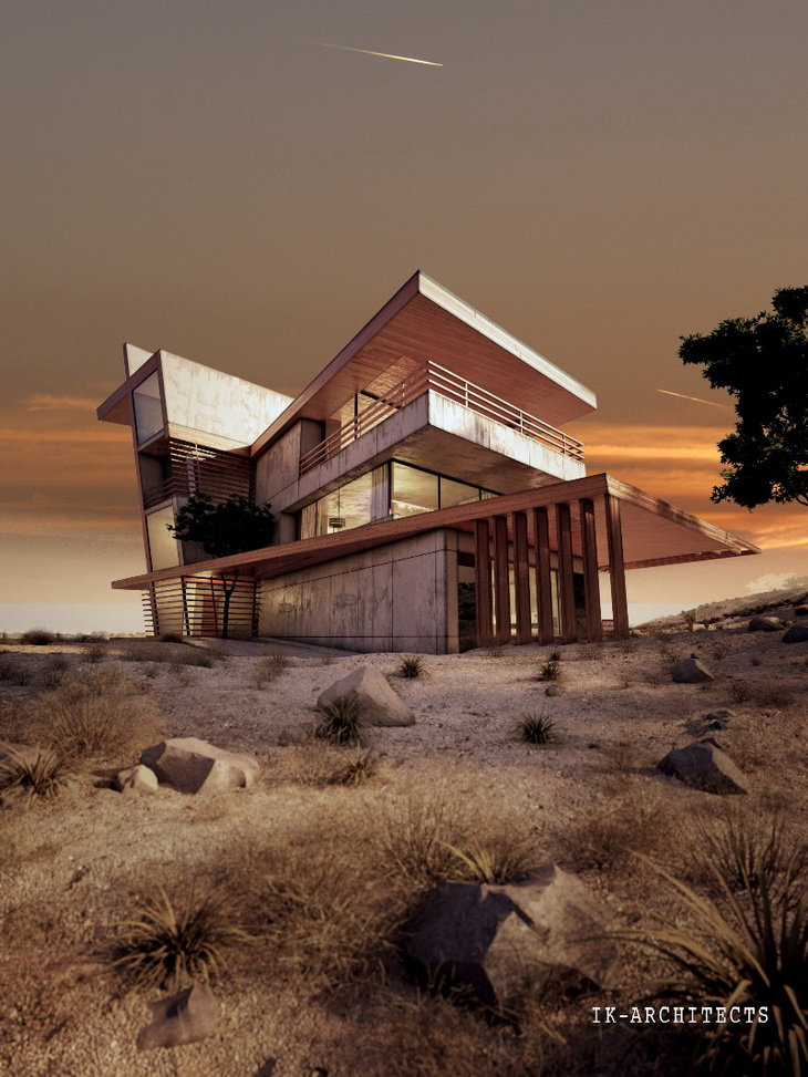Desert Rose By Ik Architects