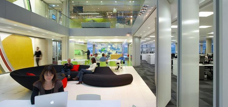 Hok 39 s new london office for Interior design office london