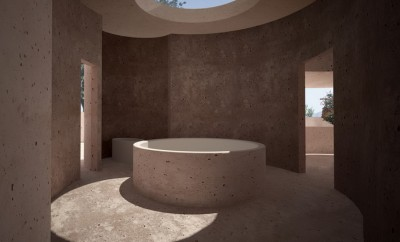 Rose house by zoka zola architecture for Design hotel zola