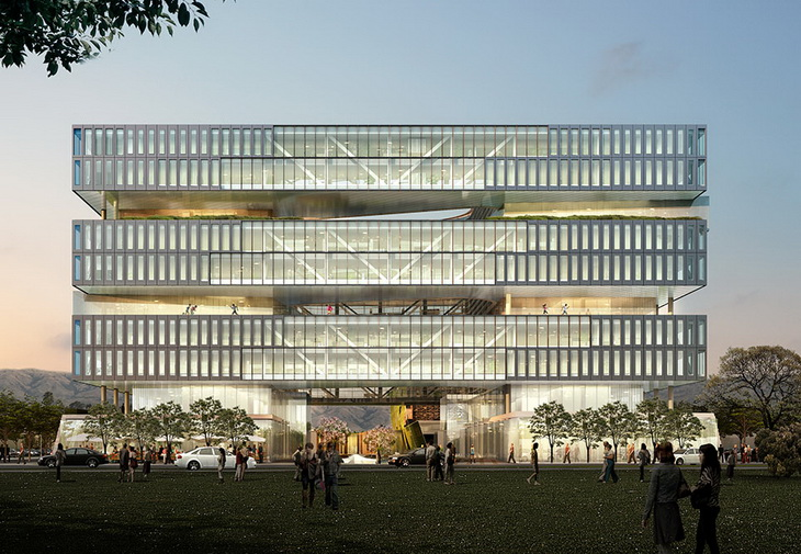 Samsung Headquarters In Silicon Valley By Nbbj