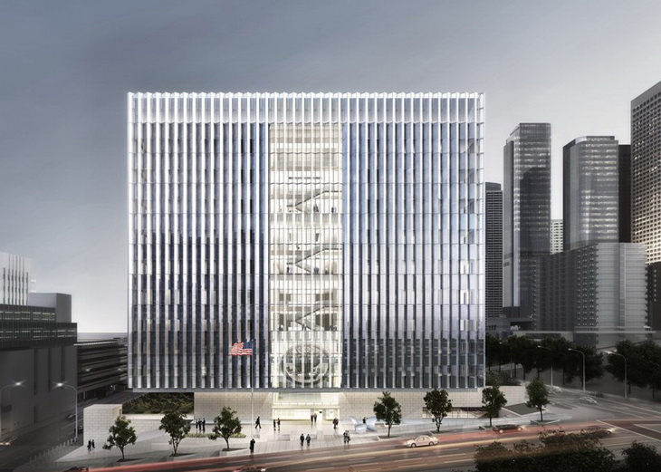 New Federal Courthouse In Los Angeles By Som