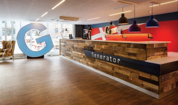 Generator hostel by the design agency for Agency for interior design company