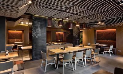 odessa restaurant by yod design lab. Black Bedroom Furniture Sets. Home Design Ideas