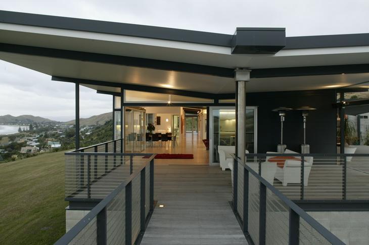 Okitu By Bossley Architects - Modern-okitu-house-by-pete-bossley