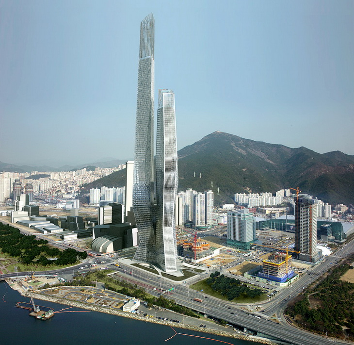 Millennium tower business center wbcb by asymptote for Design hotel xym ulsan