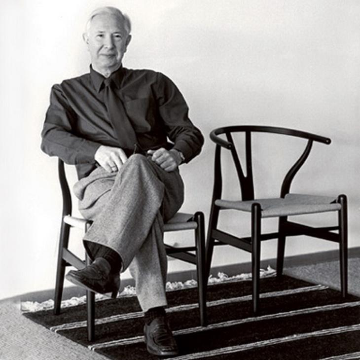 wishbone chair by hans j wegner for carl hansen s n. Black Bedroom Furniture Sets. Home Design Ideas