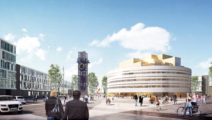 Henning Larsen City Hall Kiruna