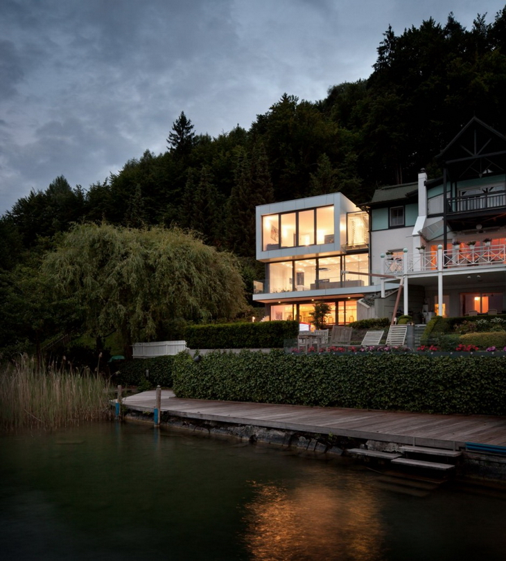 Lakeside house by spado architects for Lakeside home designs