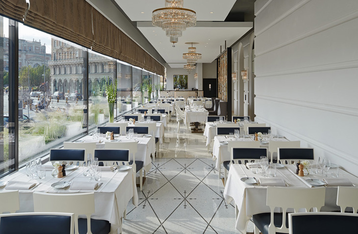 Richmond International Completes Veranda Restaurant At