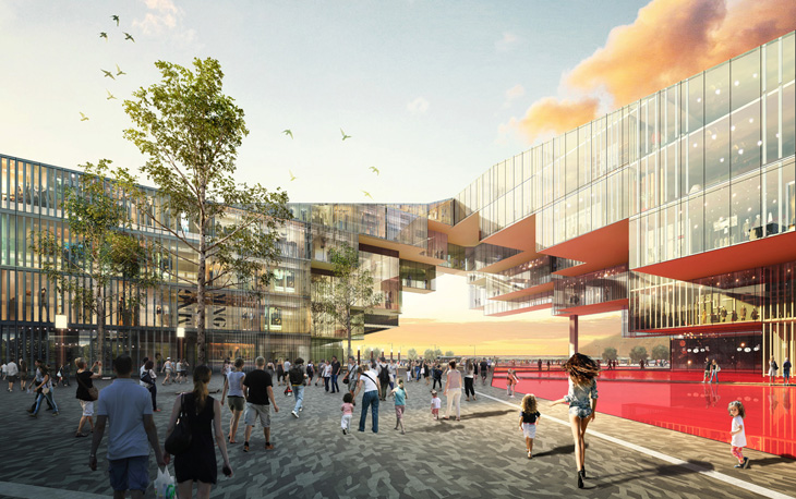 Baoye SuiNing City Plaza By Metropolitan Office Of Innovation