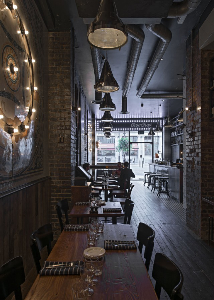 Restaurant Interior Design Northampton : Chop shop haymarket by th hill and altamarea group