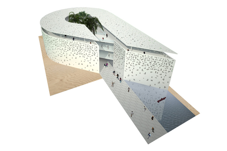 Milan expo 2015 qatar pavilion by maffei architects for Pavilion concept architecture