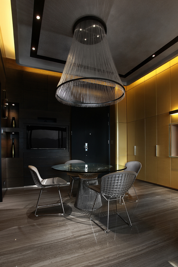 Fashionable Apartment AS Design
