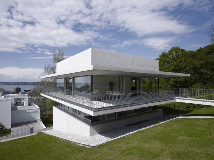 the lake house by marte marte architekten. Black Bedroom Furniture Sets. Home Design Ideas