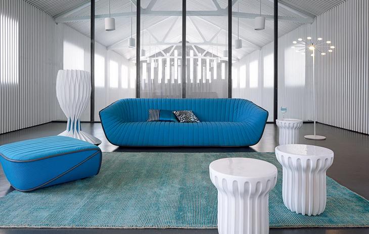 Nautil sofa by cedric ragot for roche bobois - Roche bobois marseille ...