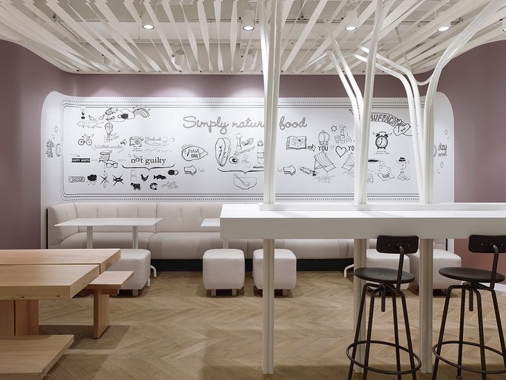 Not guilty restaurant by ippolito fleitz for Interior design zurich switzerland