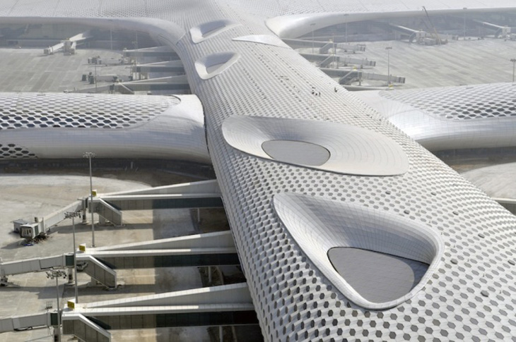 Shenzhen airport terminal 3 by studio fuksas opens 28 for Studio 11 architecture