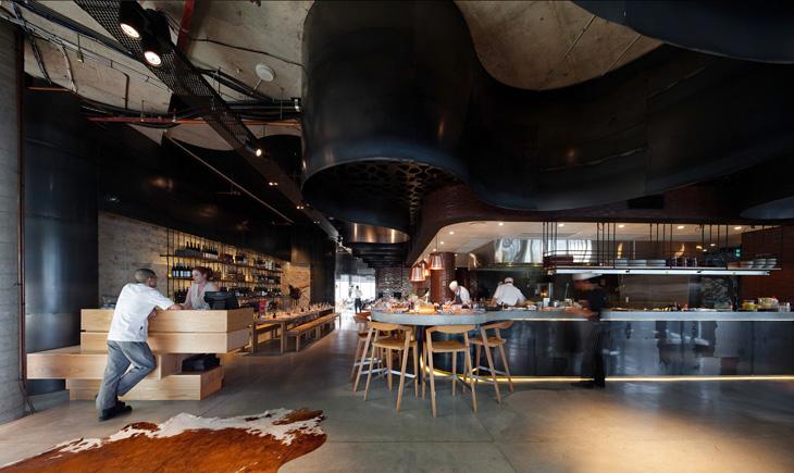 Restaurant Interior Design Brisbane : Pony restaurant by woods bagot