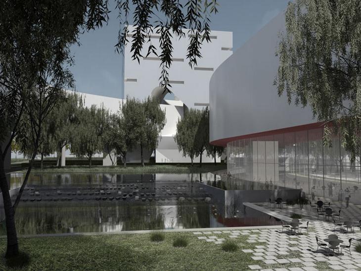 Qingdao Center Steven Holl