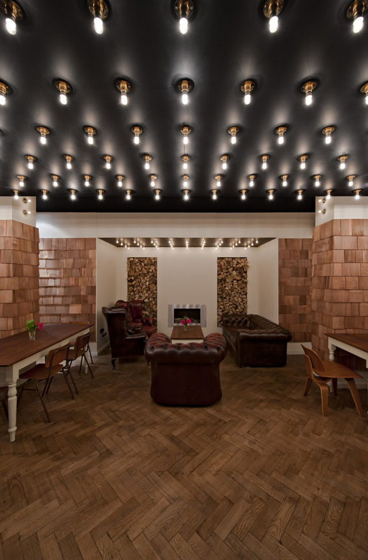 52 north in soho by 44th hill for Interior designers north london