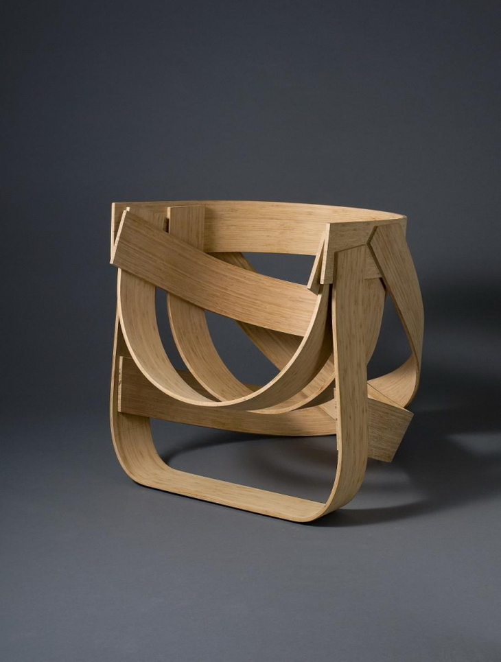 Bamboo chair by tejo remy and ren veenhuizen for Dutch design chair karton