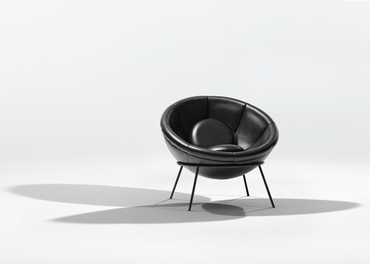 ... the Instituto Lina Bo and P.M. Bardi to recreate and produce an edition of Lina Bo Bardiu0027s famously iconic but never industrialized Bardiu0027s Bowl Chair. & Bowl Chair by Lina Bo Bardi for Arper