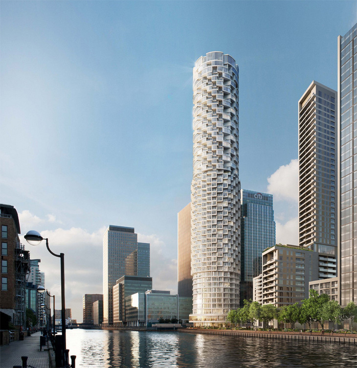 Canary Wharf Group Appoints Individual Building Architects