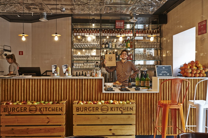 Burger Kitchen Restaurant By 77 Creative