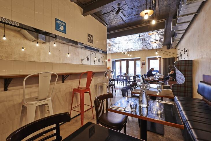 Burger kitchen restaurant by creative