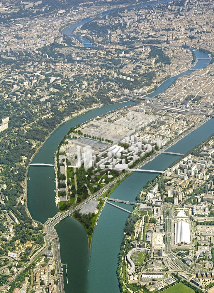 Lyon Confluence Ilot A3