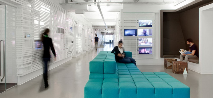 MTV's Times Square Offices