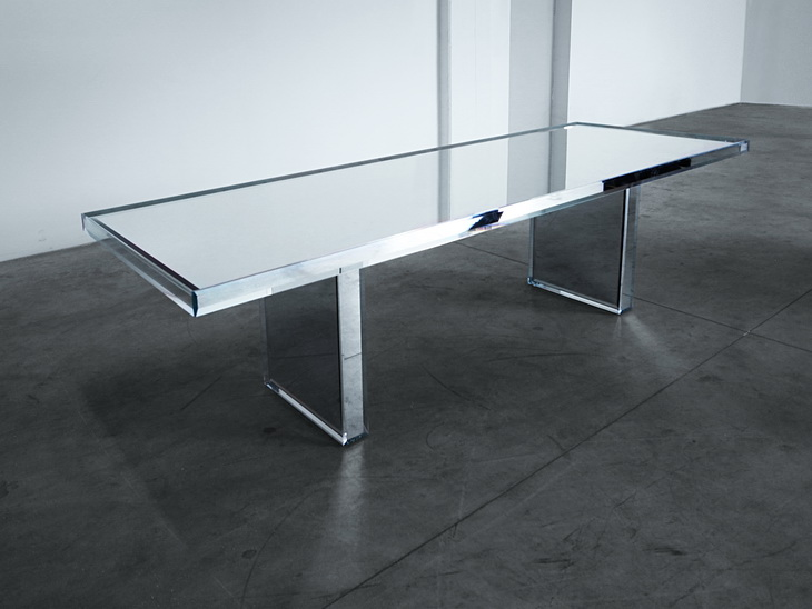 Prism Mirror Table By Tokujin Yoshioka For Milano Salone 2014