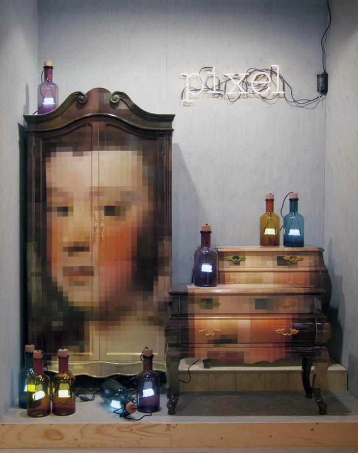 Pixel Furniture By Studio Badini Createam