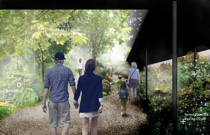 Expo Austrian Pavilion breathe.austria