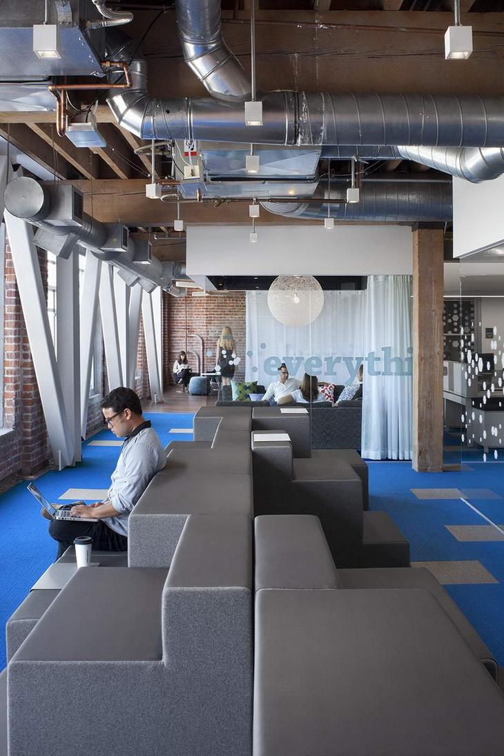 Adobe offices in san francisco by valerio dewalt train for Office design san francisco