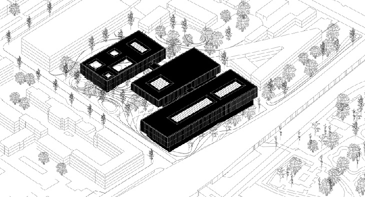 1st Prize In Between Museum By Nas Architecture
