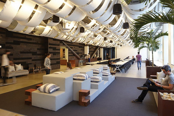 Dropbox offices in san francisco by geremia design - Office interior design san francisco ...