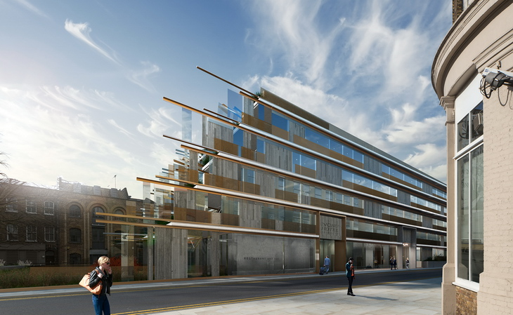 First Nobu Hotel In Europe Starts On Site In Shoreditch