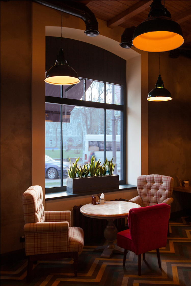Pasta Basta Restaurant By Soboleva Storozhuk Design