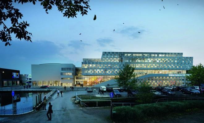3XN University Building Sweden 02
