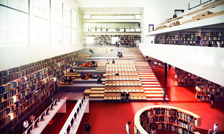 3xn wins university building in sweden - The house of clicks the visual experiment of swedish architects ...