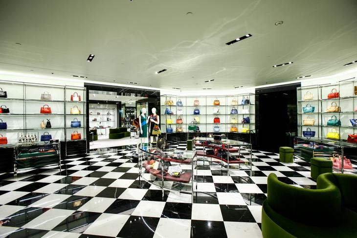 Prada 39 s new store by roberto baciocchi - Home prada design ...