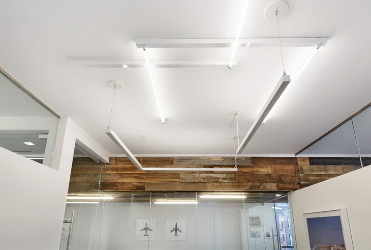 The interior of an office in Manhattan's Meatpacking District designed by iCrave and photographed by John Muggenborg.