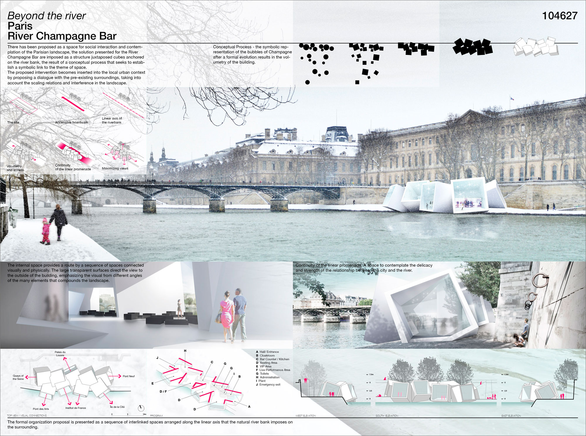Honorable mentions for the ac ca 39 s competition paris10 for Prestation architecte